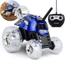 Sharper Image Remote Control Car RC Cars Toys for Boys and Girls, Thunder Tumbler Race Monster Truck, Best Kids Gifts Spinning 360 Multi-Player, Amazon.com: