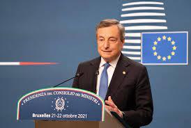 Draghi oggi al Consiglio europeo, il discorso alla conferenza stampa