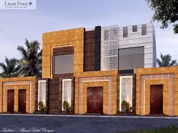 Exterior Fencing Designs New Classic Villa Facade Design With The Exterior Fence
