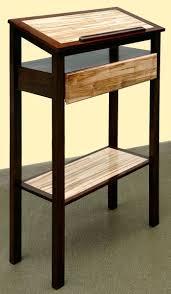 custom made podium stand up desk book stand
