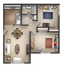 Studio Apartment Bed Two Bedroom Studio Apartment Kts Scom