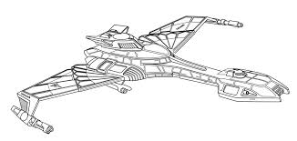 Star Trek Ship Coloring Pages Color Bros