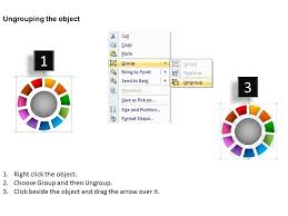 Click Chart Diagram Ring Chart Diagram 11 Stages 8 Powerpoint Presentation
