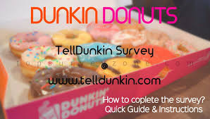 dunkin donuts survey 25 gift card