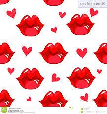 Wallpaper Lips Design Lip Pattern Stock Illustration Illustration Of Girl 101932815