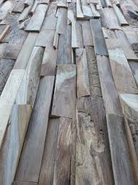 ... Wohnzimmer Holzwand Skin Large Teakholz   Althoz