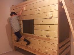 cool bunk bed fort. Diy Modular Rock Climbing Bunk Bed Fort Dad Vs Wild Cool T