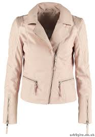 ideal women s pink jacket leather leather jackets be edgy cara