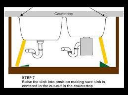 e clips undermount sink clip kit installation youtube