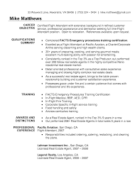Corporate Flight Attendant Resume Best Template Collection Personal