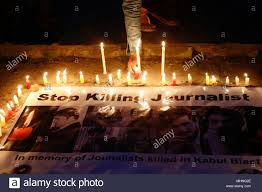 Candle Lighting 2018 Nepal 02nd May 2018 A Nepalese Journalist Lights A Candle