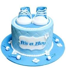 Baby Boy Cakes By Shower Diaper Cakes Ideas 3 Tier Boy Blue And Gray