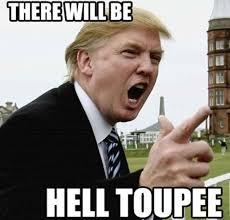 Donald Trump Hell Toupee - Funny Trump Picture via Relatably.com