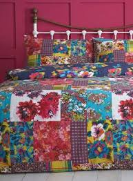 Multi Columbia Patch Bedding Set - Bedding sets - Home, Lighting ... & Floral Patchwork Bedspread - throws - Home & Lighting - BHS Adamdwight.com