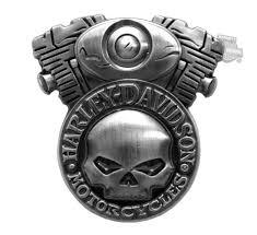 v111838 harley davidson 3d cast skull engine pin barnett
