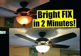 harbor breeze ceiling fans change light bulb sweet 2 min fix for dim ceiling fan lights harbor breeze ceiling fans change light bulb
