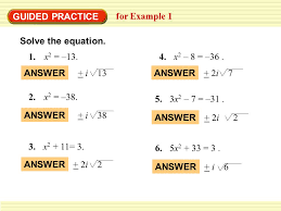 11 guided practice for example 1 solve