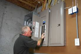 proper method to ground an old electrical fuse box electrician grounding a fuse box