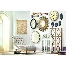 diy distressed wood wall decor arch crowned top mirrors the home depot decorators collection compressed