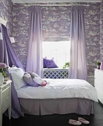bedroom colors purple. purple wallpaper with white pattern, curtains and pillows bedroom colors