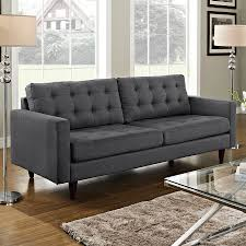 modern sofas  enfield gray sofa  eurway furniture