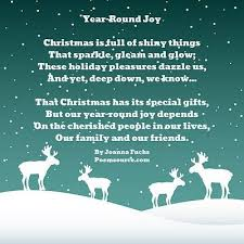 Christmas Poems - Greeting Card Wishes, Sayings, Verses