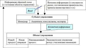 Реферат Процесс управления инновациями Организация инновационного менеджмента связывает в единую систему функционирования во времени и пространстве различные процессы управления