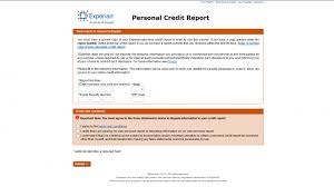 Credit Check Release Form Cool How To Access Your Annual Free Credit Report Step By Experian Bureau