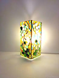 Stained Glass Lamp Decorative Lamp Sunny Day
