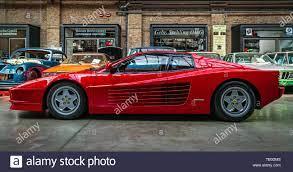 Berlin May 11 2019 Sports Car Ferrari Testarossa 1991 32th Berlin Brandenburg Oldtimer Day Stock Photo Alamy