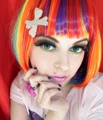 simple emo makeup