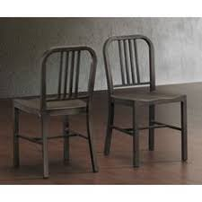 vine metal side chairs set of 2 dining kitchen room living modern style pc
