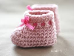 Baby Booties Crochet Pattern Simple Inspiration Ideas