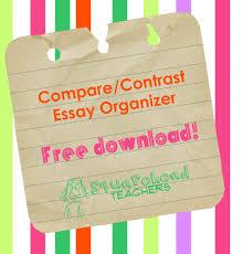 compare contrast essay organizer squarehead teachers compare contrast essay organizer