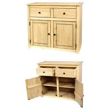 small wood curio cabinet with glass doors wardrobes wooden wardrobe cupboard 2 drawers natural wax sideboard
