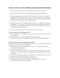 resume for job shadowing tk resume for job shadowing 24 04 2017