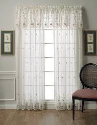 Lace Sheers Decor Semi Sheer Curtains For Cute Interior Home Decor Ideas