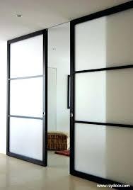 modern sliding barn doors interior warm modern sliding doors house interiors decorations