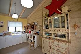 country style kitchen designs. View In Gallery Beautiful Distressed Hutch Or Standalone Decor Pieces Fit Seamlessly With The Shabby Chic Style [ Country Kitchen Designs