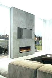 bright and modern flush mount electric fireplace 16