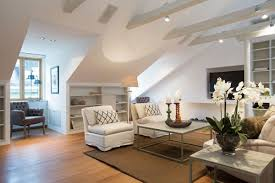 Beautiful Attic Living Room Design 2017 (Photo 8 of 26)