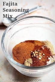 how to make fajita seasoning mix