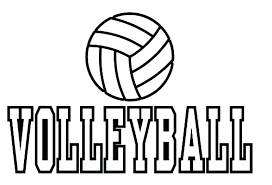 Volleyball Color Pages Volleyball Pictures To Color More Images Of Volleyball Coloring
