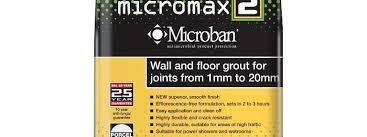 Microban Antibacterial Cementitous Grouts Bal Adhesives