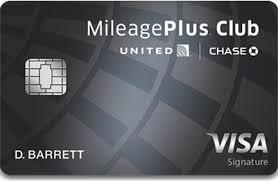 apply for united mileageplus club card