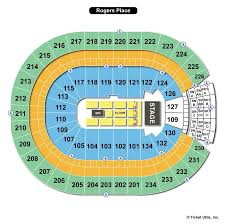 Rogers Place Seating Chart Rogers Place Edmonton Ab Seating Chart View