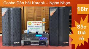 Bộ dàn Karaoke Gia đình cao cấp – Loa CAF Itali – Combo dàn Karaoke 16tr –  Nghĩa Audio Cung cấp Âm Thanh Chuyên Nghiệp Thiết Bị Âm thanh