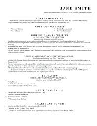 Resume Career Objective Statements