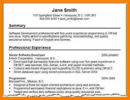 Summary For Resume Mesmerizing Resume Summary Examples Sampleprofile 60 Jobsxs Com Shalomhouse Us