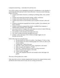 comparison essay compare and contrast transition cover letter journal submission mathematics